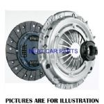 CLUTCH KIT 3PCS FOR PEUGEOT 206 307 406 EXPERT BOXER PARTNER 1.4HDI 1.6HDI 2.0HDI 90BHP